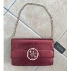 Handtasche Leder GUESS Rot, bordeauxrot