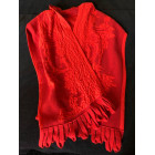 Scarf CHACOK Red, burgundy