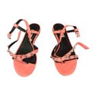 Flat Sandals BALENCIAGA Pink, fuchsia, light pink