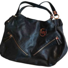 Leather Handbag MICHAEL KORS Black