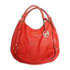 Leather Handbag MICHAEL KORS Orange