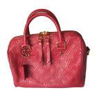 Shoulder Bag LOUIS VUITTON Pink, fuchsia, light pink