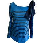 Top, t-shirt CLAUDIE PIERLOT Blu, blu navy, turchese