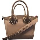 Leather Handbag CHRISTIAN LOUBOUTIN Beige, camel