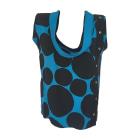 Tops, T-Shirt GUCCI Blau, marineblau, türkisblau