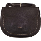 Leather Clutch FURLA Black