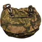 Leather Shoulder Bag GERARD DAREL Golden, bronze, copper