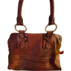Leather Handbag LOUIS VUITTON Brown