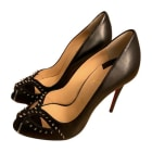 Peep-Toe Pumps CHRISTIAN LOUBOUTIN Black