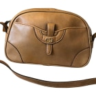 Leather Shoulder Bag GUCCI Beige, camel