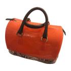Lederhandtasche FURLA Orange
