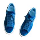 Sneakers ALEXANDER MCQUEEN Blue, navy, turquoise