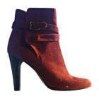 High Heel Ankle Boots MICHEL VIVIEN Orange