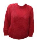Sweater SOEUR Red, burgundy