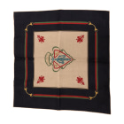Silk Scarf GUCCI Blue, navy, turquoise