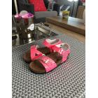 Calzature con fibbia SIX PIEDS TROIS POUCES Rosa, fucsia, rosa antico