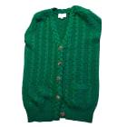 Vest, Cardigan ERIC BOMPARD Green