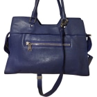 Leather Handbag PROENZA SCHOULER Blue, navy, turquoise