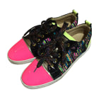 Baskets CHRISTIAN LOUBOUTIN Multicouleur