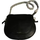 Leather Shoulder Bag MARC JACOBS Black