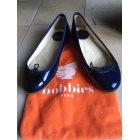 Ballet Flats BOBBIES Blue, navy, turquoise
