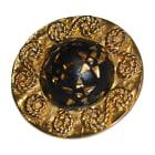 Boucles d'oreille CÉLINE Doré, bronze, cuivre