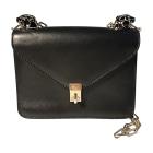 Leather Shoulder Bag VALENTINO Black