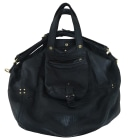 Leather Handbag JEROME DREYFUSS Black