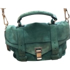 Leather Handbag PROENZA SCHOULER Green