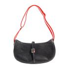Leather Handbag BALLY Black