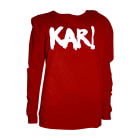Sweat KARL LAGERFELD Rouge, bordeaux