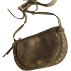 Leather Shoulder Bag SEE BY CHLOE Khaki