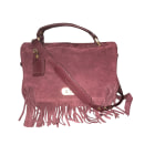 Leather Shoulder Bag ZADIG & VOLTAIRE Purple, mauve, lavender