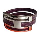 Bracelet HERMÈS Purple, mauve, lavender
