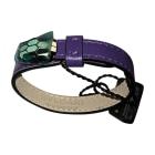Bracelet BULGARI Purple, mauve, lavender