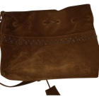 Non-Leather Shoulder Bag VANESSA BRUNO Brown