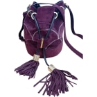 Leather Shoulder Bag SEE BY CHLOE Purple, mauve, lavender
