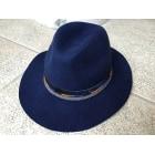 Chapeau HIPANEMA Bleu, bleu marine, bleu turquoise