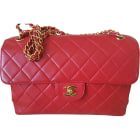 Borsa a tracolla in pelle CHANEL Timeless rouge