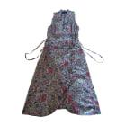 Robe mi-longue ISABEL MARANT ETOILE Multicouleur