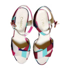 Heeled Sandals CHANEL Multicolor