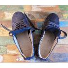 Sneakers MONSIEUR MOUSTACHE Blue, navy, turquoise
