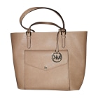 Borsa a tracolla in pelle MICHAEL KORS taupe