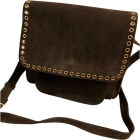 Leather Shoulder Bag ISABEL MARANT Brown