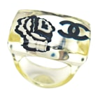 Bague CHANEL Transparent