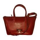 Leather Shoulder Bag VALENTINO Red, burgundy