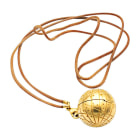 Necklace HERMÈS Golden, bronze, copper