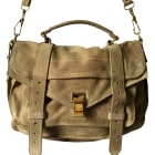 Leather Handbag PROENZA SCHOULER Beige, camel