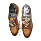 Loafers BERLUTI Golden, bronze, copper
