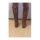 Stivali cavallerizza HERMÈS Beige, cammello